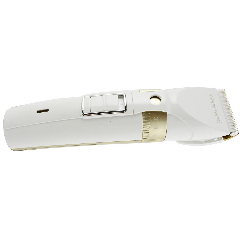 Professional Haarschneidemaschine mit Keramik Schermesser 2 Akku 4Aufsätze Haarschenider