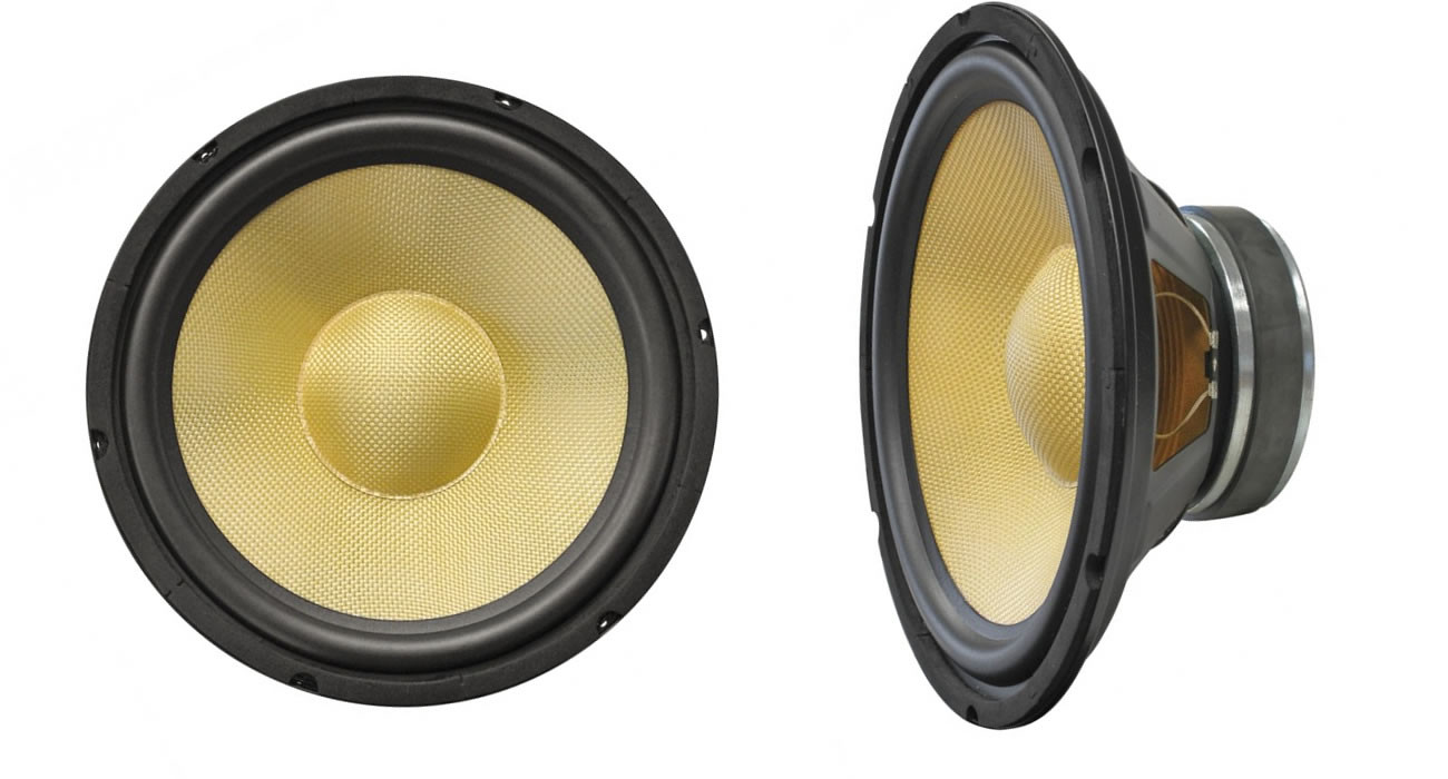 Subwoofer Kenford 200 mm  Kevlar-Membran Tieftöner Bass Lautsprecher 8 Ohm
