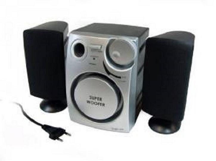 LogiLink SP0004 Aktivlautsprecher System Stereo 2.1