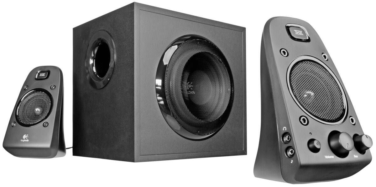 LOGITECH Speaker System Z623 PC Lautsprecher 400W Sound