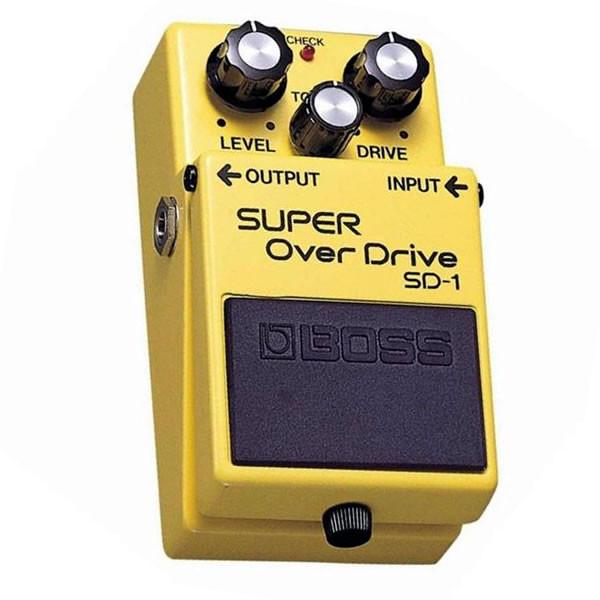 BOSS SD-1 Super OverDrive - Verzerrer Gitarren Effektpedal