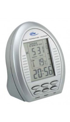 Elta WS105 Uhr Wecker Wetterstation mit Timerfunktion