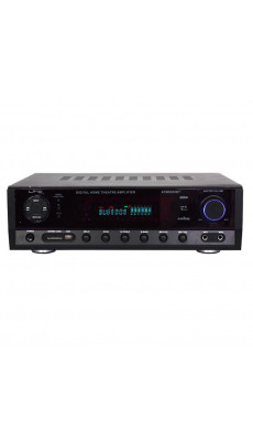 HIFI MUSIK KARAOKE VERSTÄRKER BLUETOOTH MP3 USB SD ANLAGE TUNER PA ENDSTUFE ATM6500BT