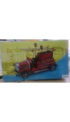 Design Feuerwehr Fahrzeug aus Blech Deko Modell Dekoration
