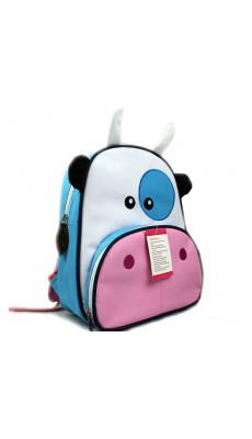 Kindergartenrucksack Kinder Rucksack Tiermuster Tiere Tasche Kuh