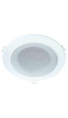 Deckenlautsprecher Decken Einbau Lautsprecher  80W 18cm weiß Wand Boxen 2Stk 80D