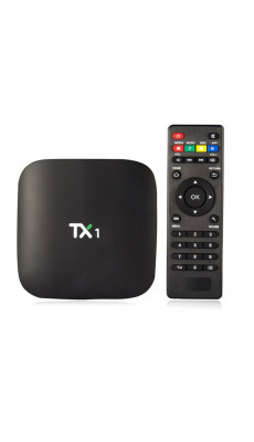 IPTV BOX TX1 Smart Android Box  4.4  8GB Quad Core Media Player WIFI  PC HQ