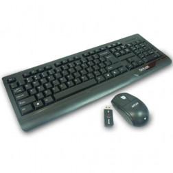 Delux Tastatur-Maus-Set  DLK-6000G kabellos wireless