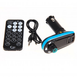 Auto Car FM Transmitter Sender PKW MP3 Player Musik Player USB SD TF